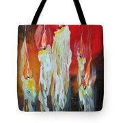 Candle Dance  Tote Bag