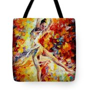 Candle Fire  Tote Bag