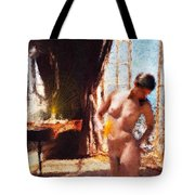 Candle In The Sunlight Tote Bag