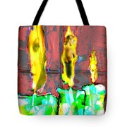 Candle In The Window Tote Bag