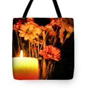 Candle Lit Tote Bag