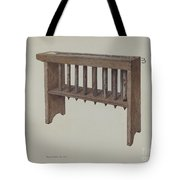 Candle Mold Tote Bag