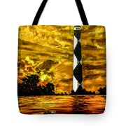 Candle On The Water Tote Bag