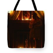 Candlelight Glow Tote Bag