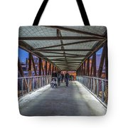 Candlelight Hike  Tote Bag