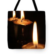 Candlelight Tote Bag