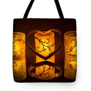 Candlelight Love Tote Bag
