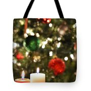 Candles For Christmas 3 Tote Bag