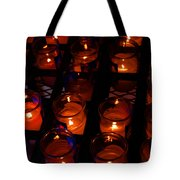 Candles For Mother Maria Tote Bag