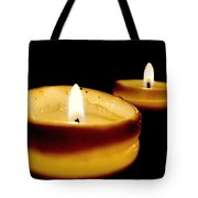 Candles In The Dark Tote Bag