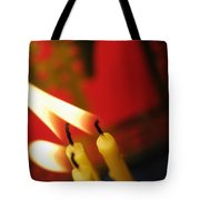 Candles Tote Bag