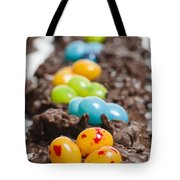 Candy Bird Nests  Tote Bag