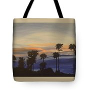 Candy-floss Sunset Tote Bag