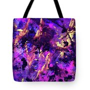 Candy Colours Abstract Tote Bag