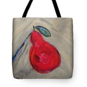 Candy Red Tote Bag