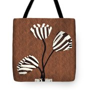 Candy Stripe Tulips 3 Tote Bag