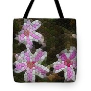 Candy Striped Phlox Tote Bag