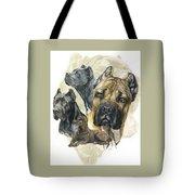 Cane Corso W/ghost Tote Bag
