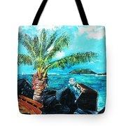 Cane Garden Bay Tortola 1997 Tote Bag