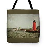 Canim And Milwaukee Pierhead Tote Bag