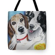 Canine Friends Tote Bag