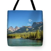 Canmore Alberta Golden Hour Tote Bag