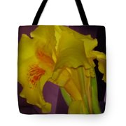 Canna Flower Tote Bag
