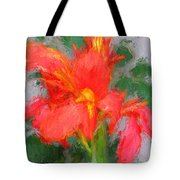 Canna Lily 3 Tote Bag