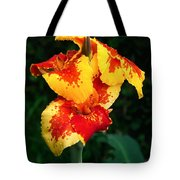 Cannas With Dew Tote Bag