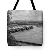 Cannelton Locks And Dam Tote Bag