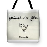 Cannes 2008 Tote Bag