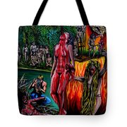 Cannibal Holocaust Tote Bag