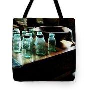 Canning Jars Tote Bag by Susan Savad