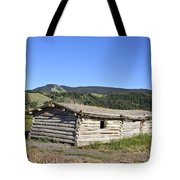 Canningham Cabin Grand Tetons National Park Tote Bag