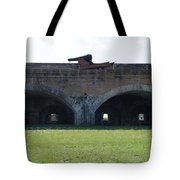 Cannon At Fort Pickens Tote Bag