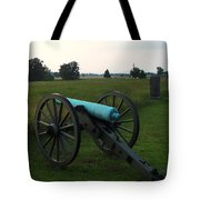 Cannon At Gettysburg 2 Tote Bag