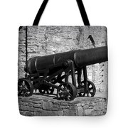 Cannon At Macroom Castle Ireland Tote Bag