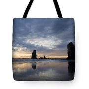 Cannon Beach At Sunset 5 Tote Bag