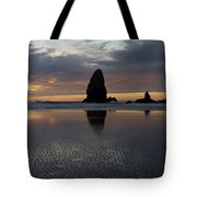 Cannon Beach At Sunset 7 Tote Bag