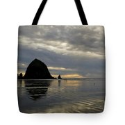 Cannon Beach Reflections Tote Bag