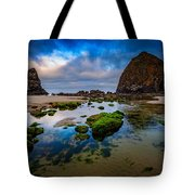 Cannon Beach Tote Bag by Rick Berk