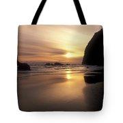 Cannon Beach Sunset-oregon Tote Bag