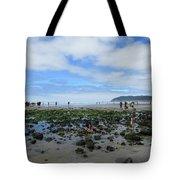 Cannon Beach Tide Pools Tote Bag