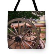 Cannon Gettysburg Tote Bag