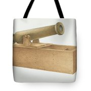 Cannon-shaped Ballot Box Tote Bag