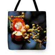 Cannonball Flower Tote Bag