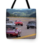 Cannonball Rally Tote Bag