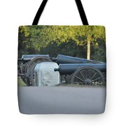 Cannons At Shiloh Tote Bag