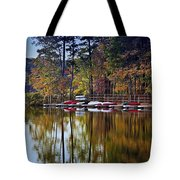 Canoe Lake Tote Bag