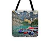 Canoe Paradise Tote Bag